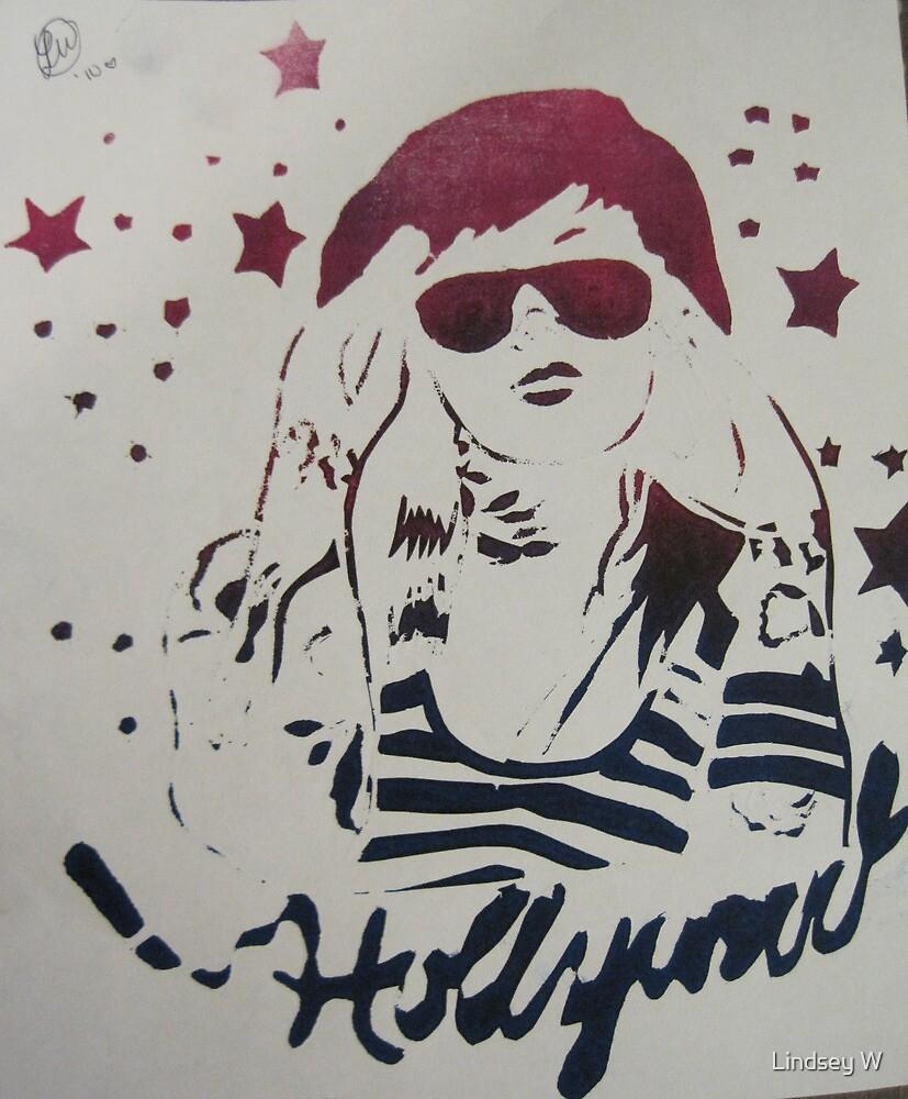 Kat Von D Stencil by Lindsey W