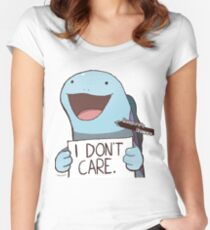 Quagsire's Unaware Activated Women's Fitted Scoop T-Shirt