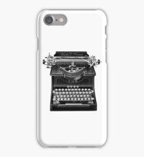 The Madison Review Typewriter iPhone Case/Skin