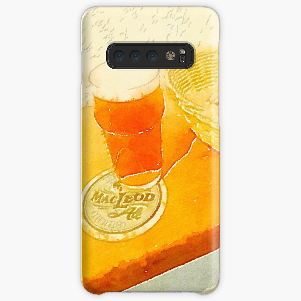 A pint and some peanuts Case & Skin for Samsung Galaxy