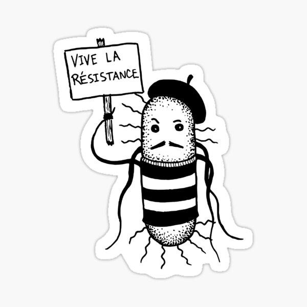 Vive La Resistance! Sticker Sticker