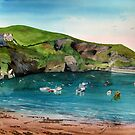 """Quiet"" - Port Isaac, Cornwall by Timothy Smith"