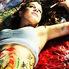 Splatter Paint Shoot Series #9 by Lindsey W