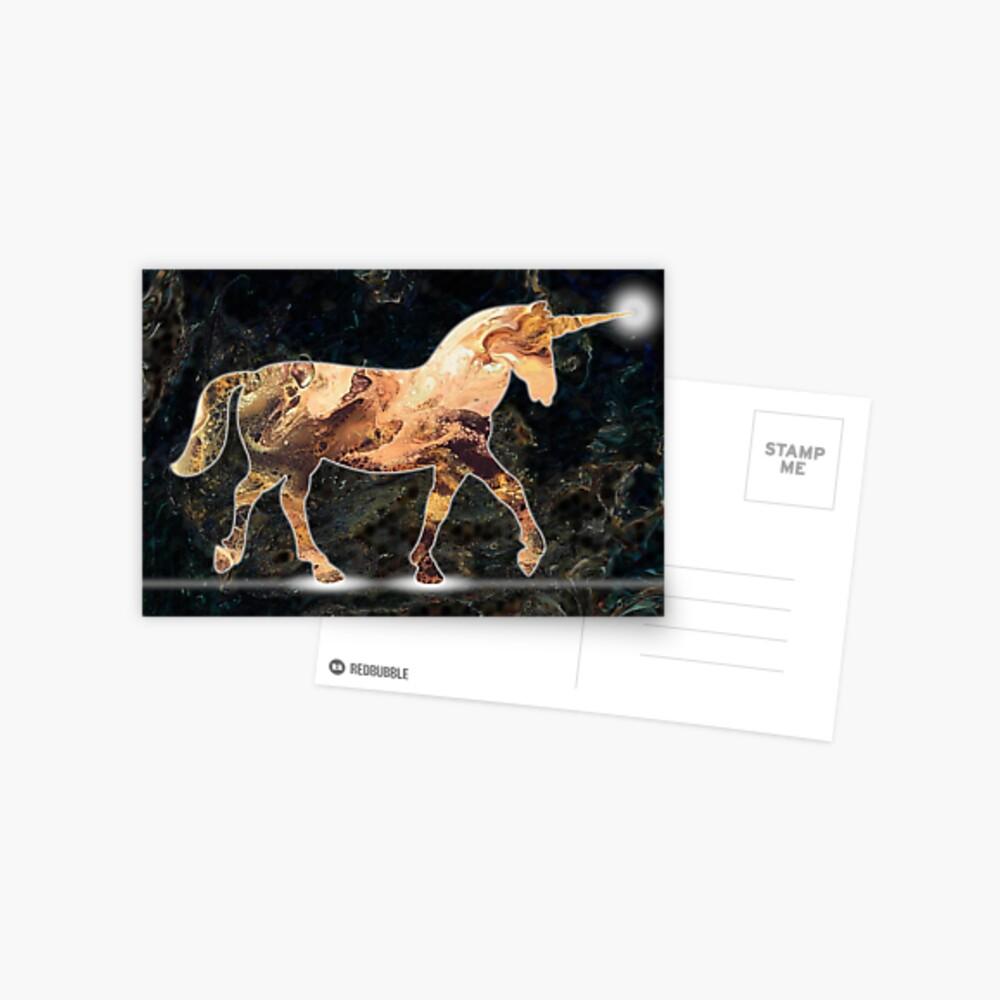 Unicorn Light Postcard