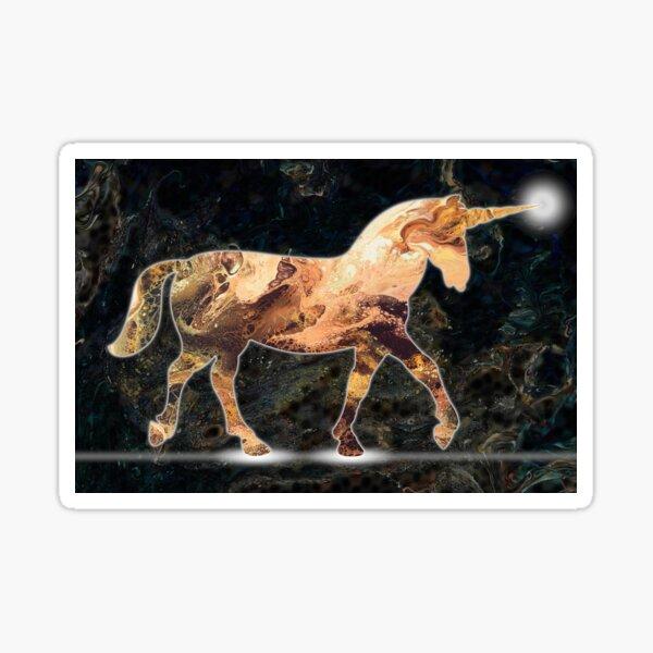 Unicorn Light Sticker