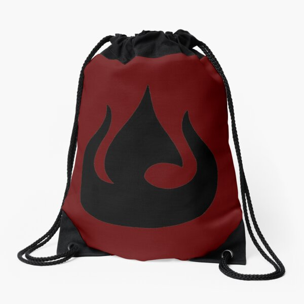 Fire Nation Royal Banner Drawstring Bag
