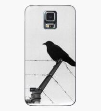 Bird on a Wire Case/Skin for Samsung Galaxy