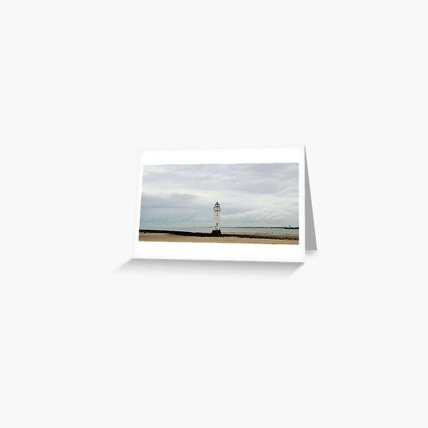 New Brighton lighthouse Greeting Card