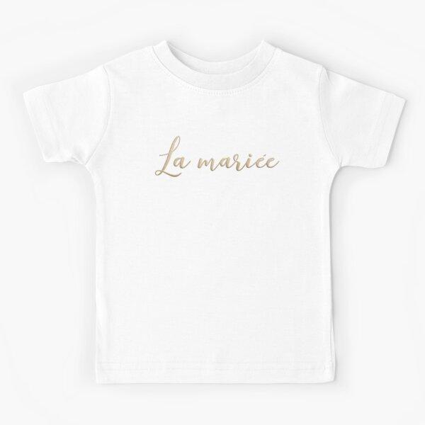La mariée  Kids T-Shirt