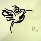 Hummingbird Tattoo Design by Lindsey W