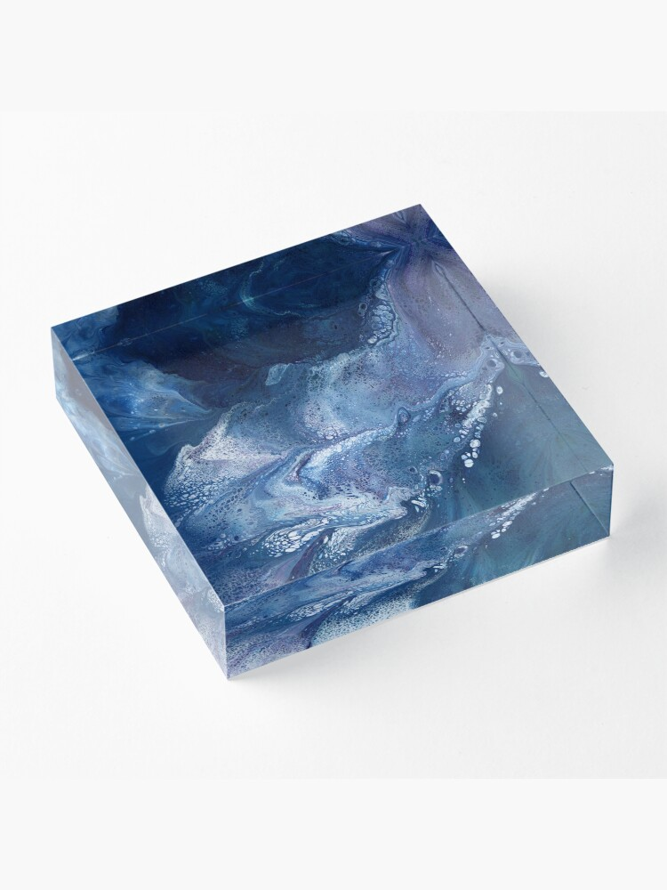 Alternate view of Waterfall Pool Acrylic Block