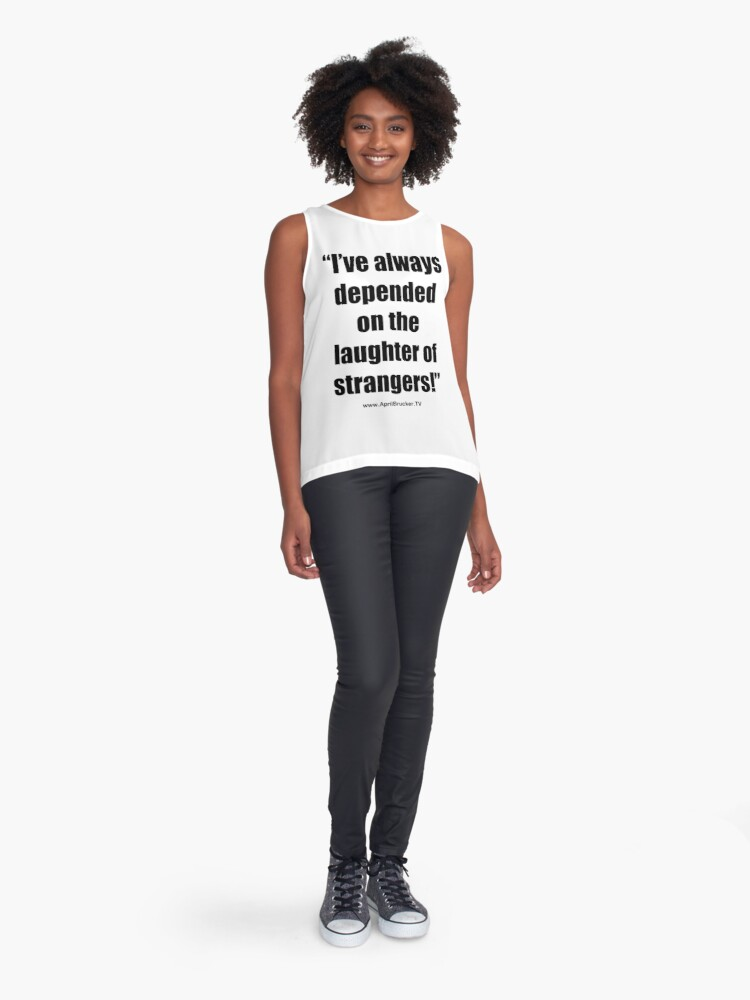 Alternate view of The Laughter of Strangers Sleeveless Top