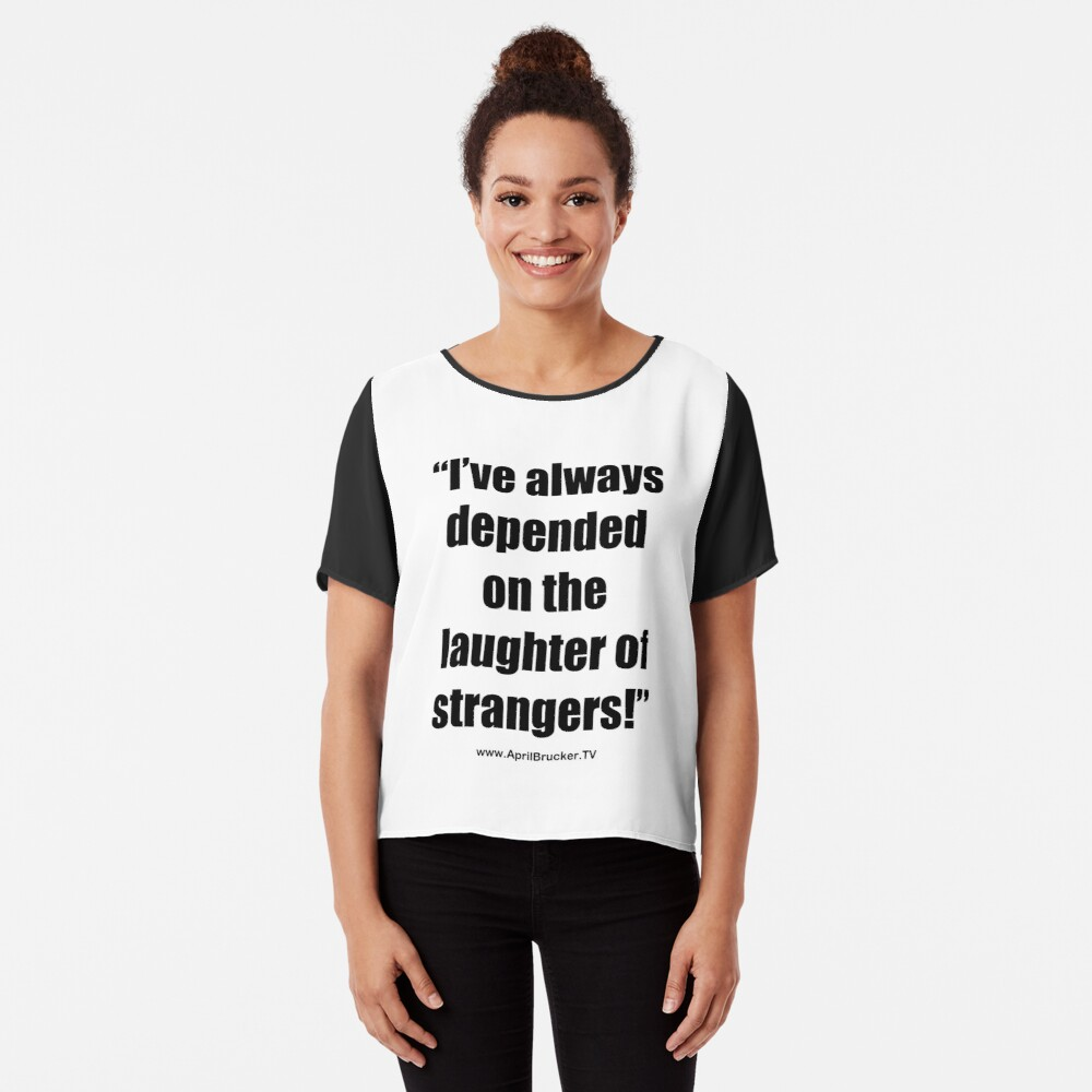The Laughter of Strangers Chiffon Top
