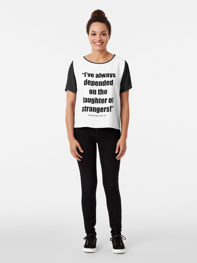 Alternate view of The Laughter of Strangers Chiffon Top