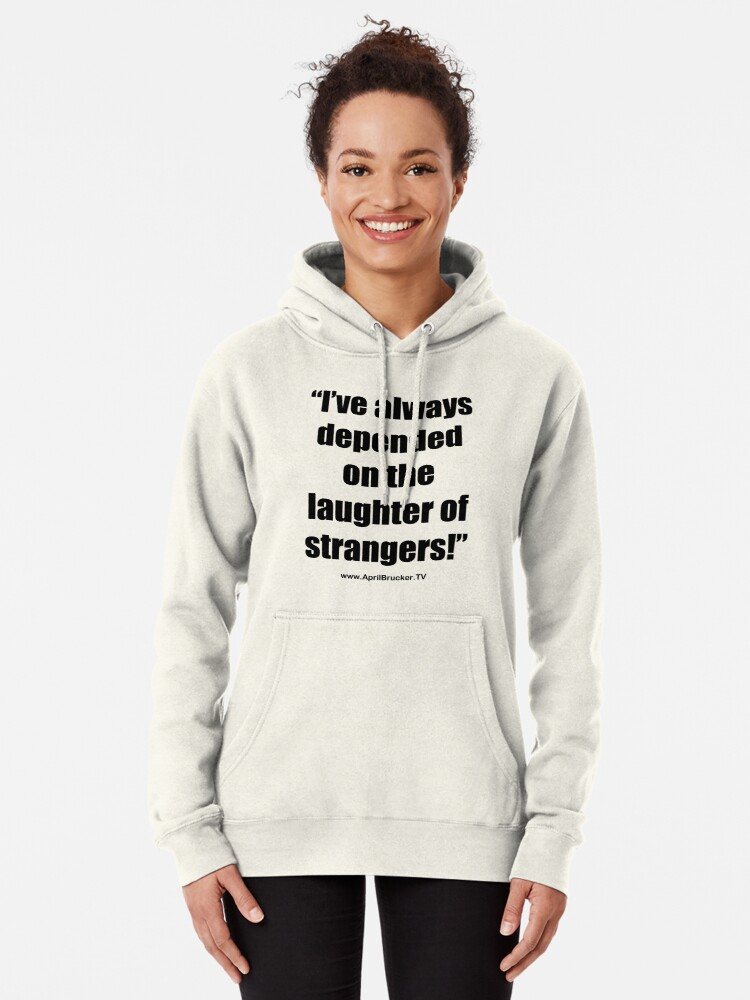 Alternate view of The Laughter of Strangers Pullover Hoodie