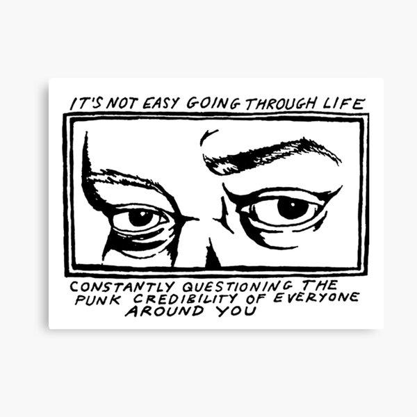 Through life Canvas Print