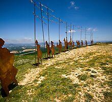 Alto del Perdon by Daniel Nahabedian