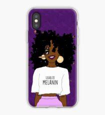 LEGALIZE MELANIN O (ABA) iPhone Case