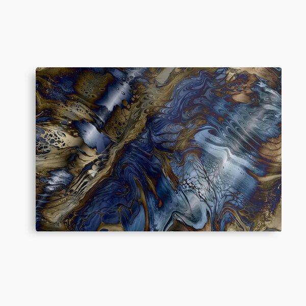 Wood and Water Metal Print