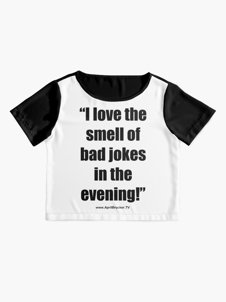 Alternate view of The Smell of Bad Jokes Chiffon Top