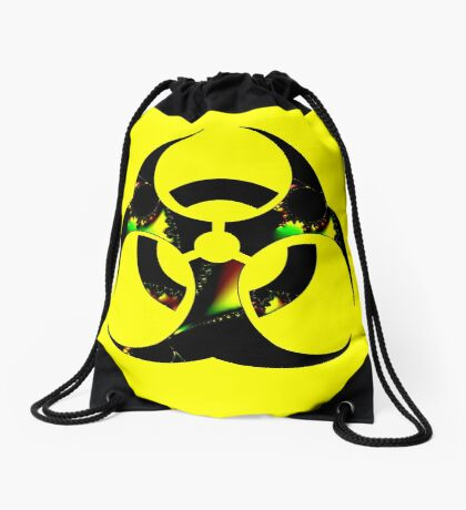Infected Biohazard Drawstring Bag
