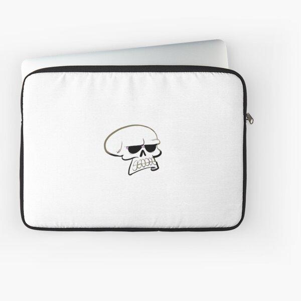 Annoyed Skull Laptop Sleeve