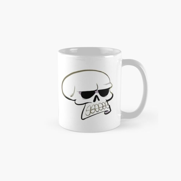 Annoyed Skull Classic Mug