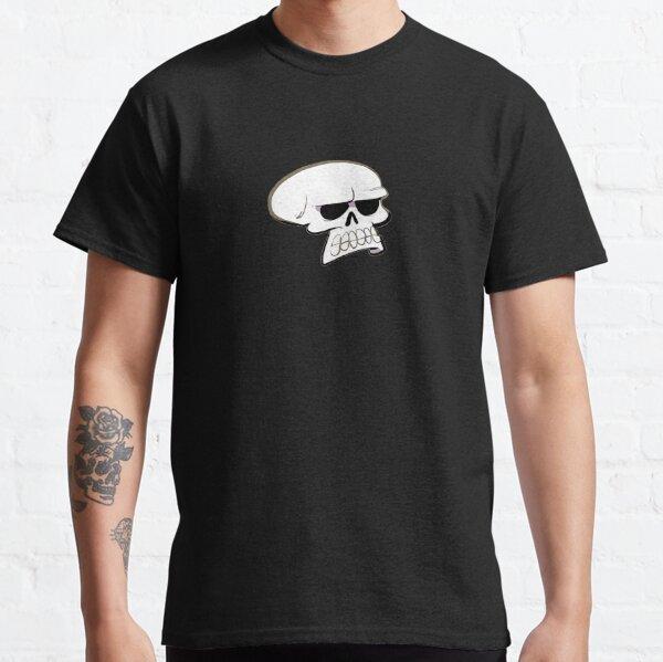 Annoyed Skull Classic T-Shirt