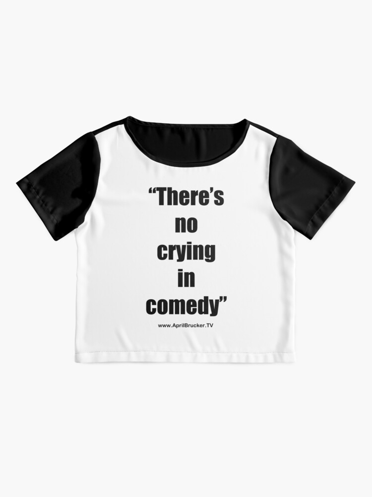 Alternate view of No Crying in Comedy! Chiffon Top