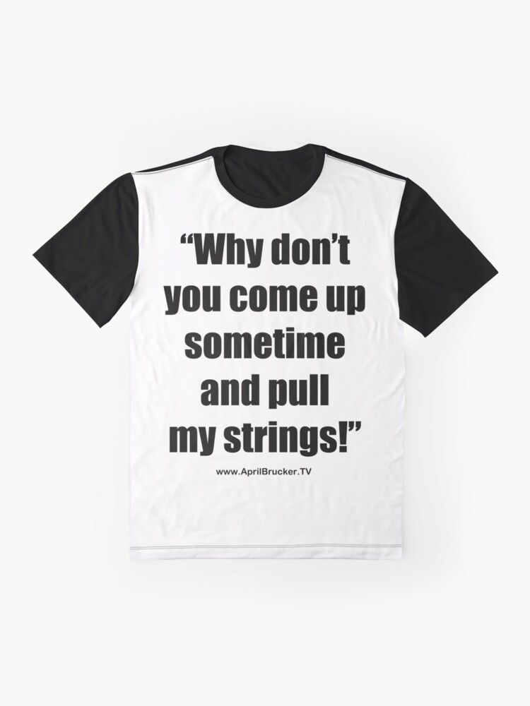 Alternate view of Pull My Strings! Graphic T-Shirt