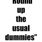 The Usual Dummies! by April Brucker