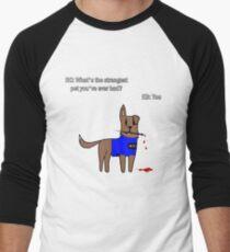 Castle dog Men's Baseball ¾ T-Shirt