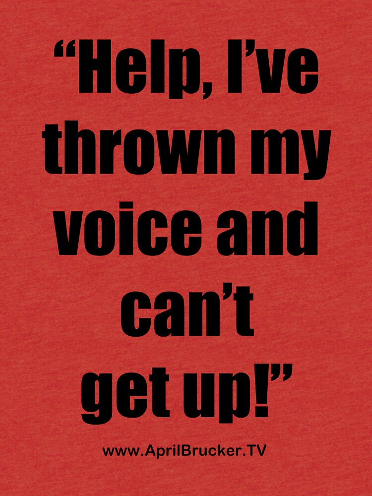 I've Thrown My Voice! by AprilB