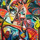 Jazz Guitarist by Sally Sargent
