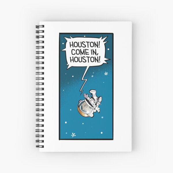 """""""Lost in Space"""" Spiral Notebook"""