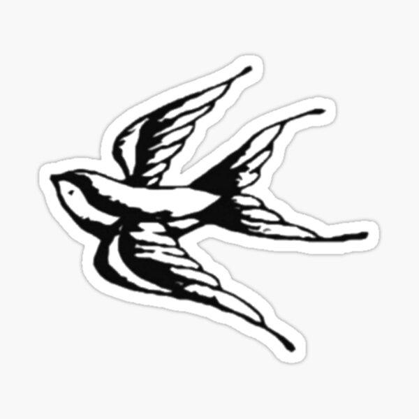 Swallow tattoo Sticker