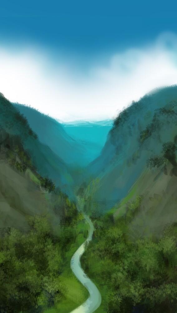 Das Tal von Tamara Tegethoff