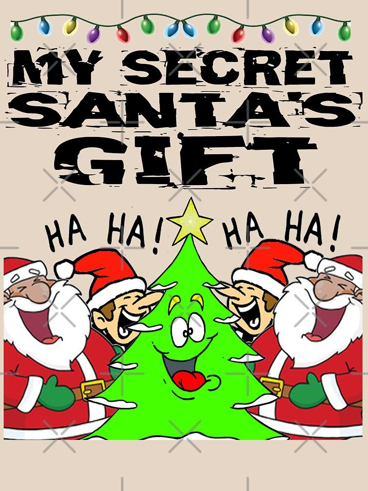 Secret Santa Gift T-Shirt Design by Mbranco