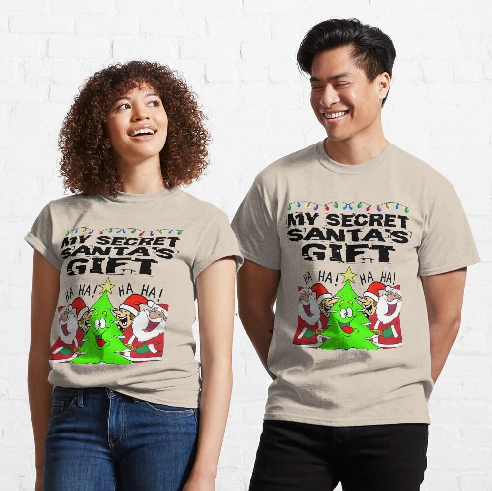 Secret Santa Gift T-Shirt Design Classic T-Shirt