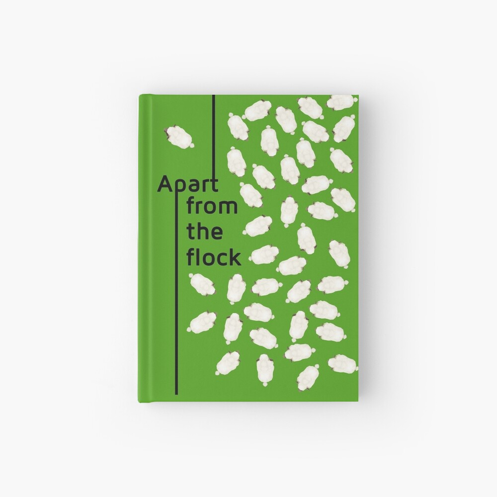 Apart from the flock Hardcover Journal