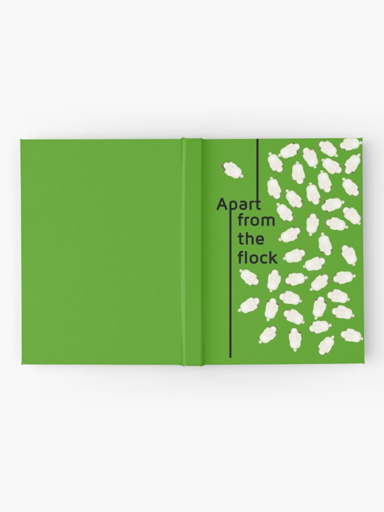Alternate view of Apart from the flock Hardcover Journal