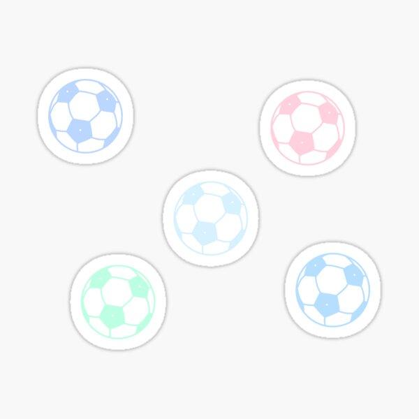Lindo balón de fútbol Pegatina