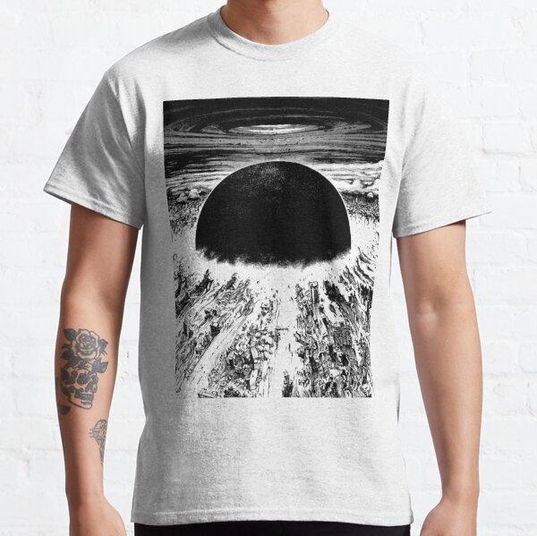 Akira Cyberpunk Stadtexplosion Classic T-Shirt
