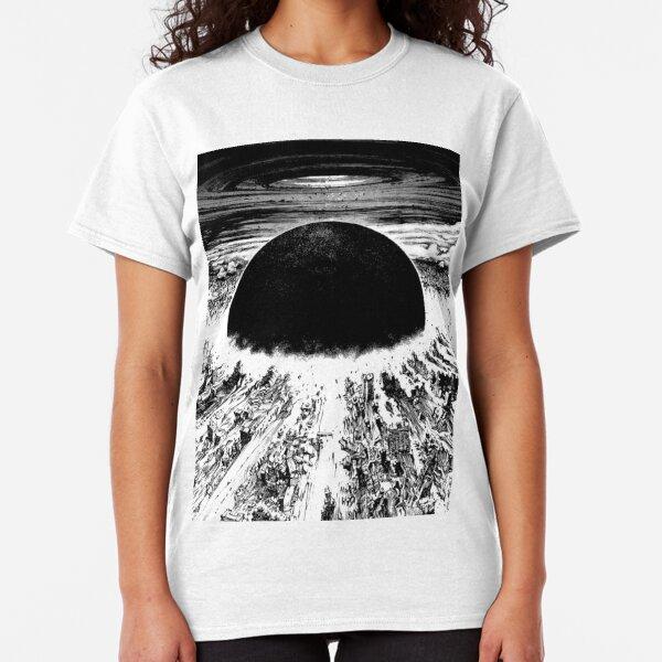 Akira cyberpunk city explosion Classic T-Shirt