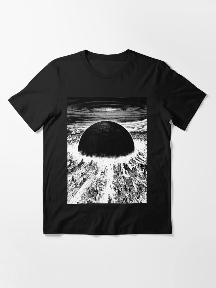 Alternate view of Akira cyberpunk city explosion Essential T-Shirt