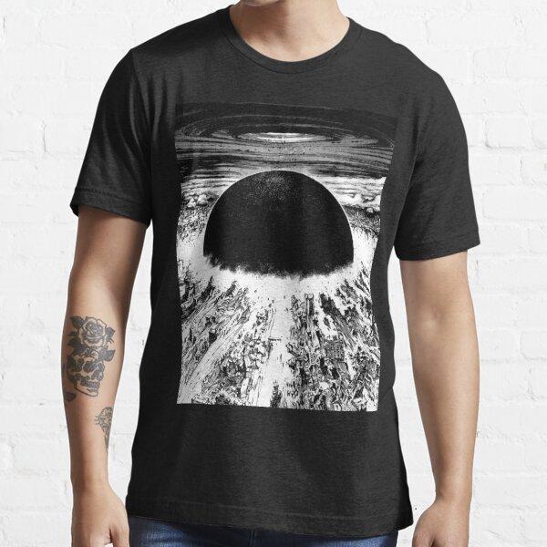 Explosion de la ville cyberpunk d'Akira T-shirt essentiel