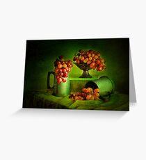 Grapes, Grapes , Grapes. !! Greeting Card