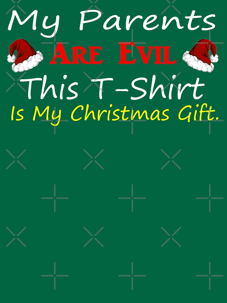 My Parents Are Evil Christmas Design by Mbranco