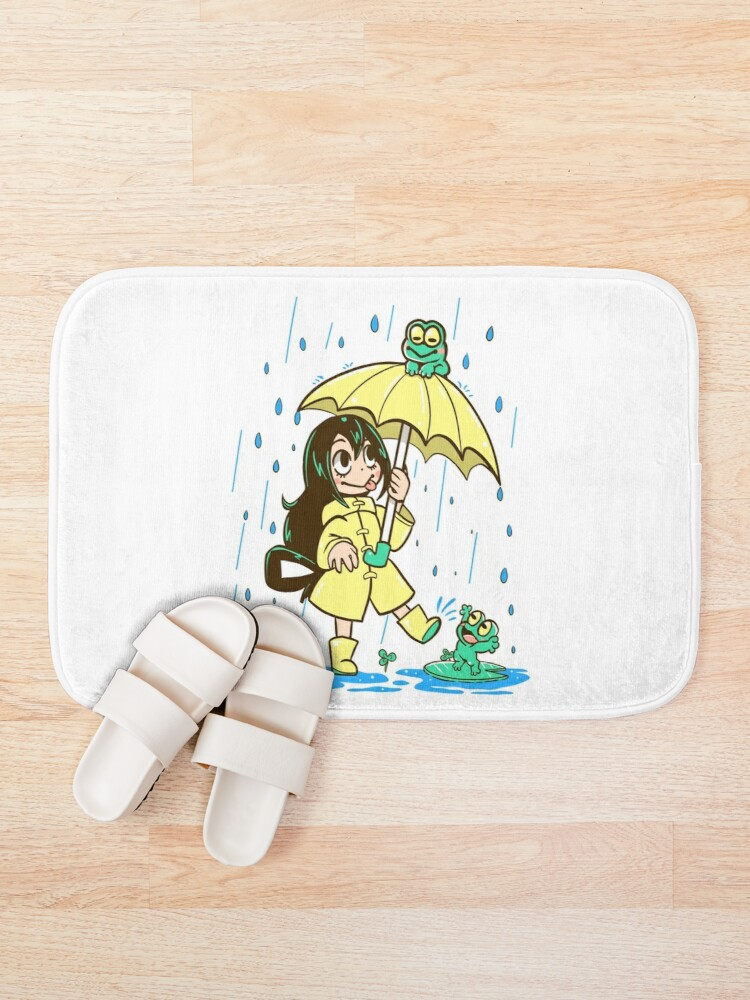 Alternate view of Best Frog Girl Bath Mat