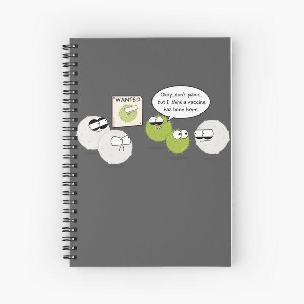 Wanted Virus Spiral Notebook